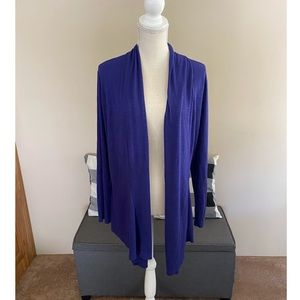 NWT Chico's Knit Drape Front Cardigan Size 16